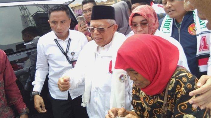 Ma'ruf Amin Duga Ada yang Mulai Cari 'Kambing Hitam' Jika Kalah Pilpres