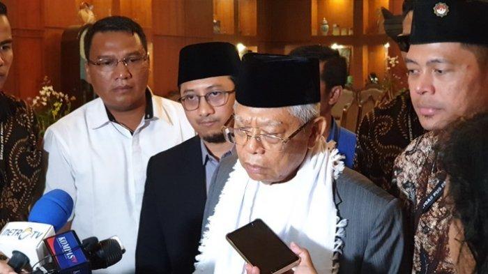 Ma'ruf Amin Optimis Rebut Lumbung Suara Prabowo di Lamongan