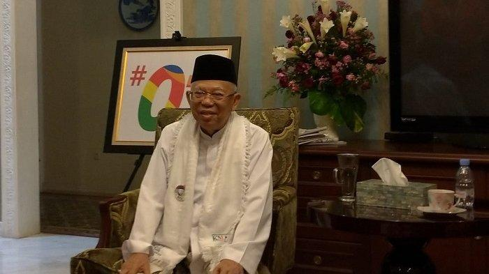 Jelang Pergantian Tahun, Ini Harapan Ma'ruf Amin pada Tahun Politik 2019