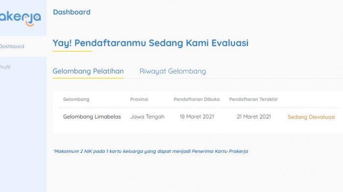 Lihat Pengumuman Kartu Prakerja Gelombang 15 di www.prakerja.go.id, Cek Lolos atau Tidak