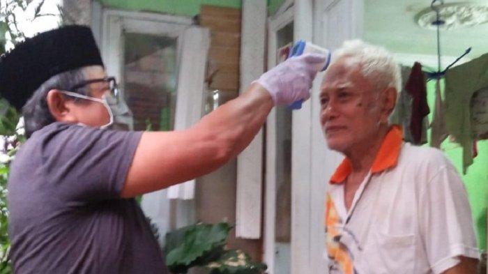 Istana Sambut Positif Upaya Warga Cek Suhu Tubuh Cegah Penyebaran Virus Corona