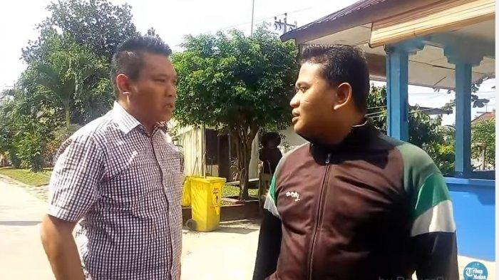 Petugas Keamanan SMK Binaan Teriaki Anggota DPRD Sumut Sutrisno Pangaribuan