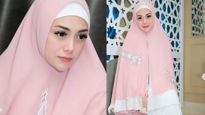 Ikut Buka Puasa Bareng, Artis Non Muslim Celine Evangelista Curi Perhatian, Tampil Cantik Berhijab!