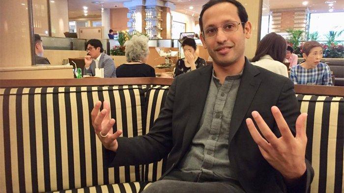 CEO Gojek, Nadiem Makarim saat berada di Tokyo Jepang.