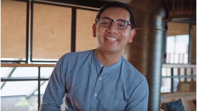 Kolaborasi Ciamik CEO GoPay dan Youtuber Agung Hapsah, Sudah Lihat?
