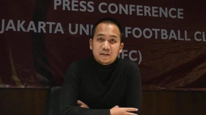 CEO Jakarta United FC Bakal Jadi Pelatih Tim yang Dimodali Sendiri