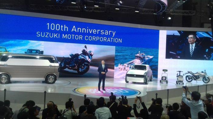 Suzuki Kenalkan Tiga Mobil Konsep di Tokyo Motor Show 2019