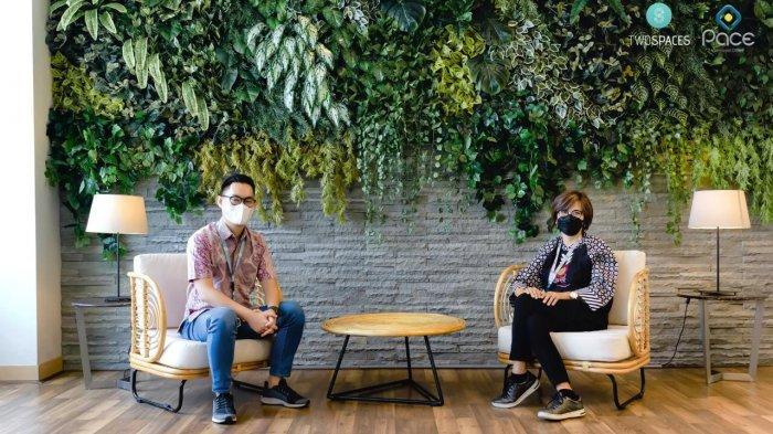 Ruang Kerja Fleksibeldi CBD Senayan Jakarta Tawarkan 'Contactless Working Experience'