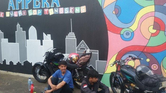 Cerita 3 Bikers Pergi Piknik dari Subang ke Pangandaran, Selalu Lolos Lewati Pos Penyekatan Mudik