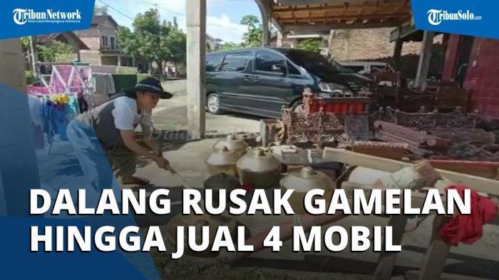 Viral Video Dalang Rusak Gamelan karena Terdampak Pandemi, Sampai Jual 4 Mobilnya untuk Makan