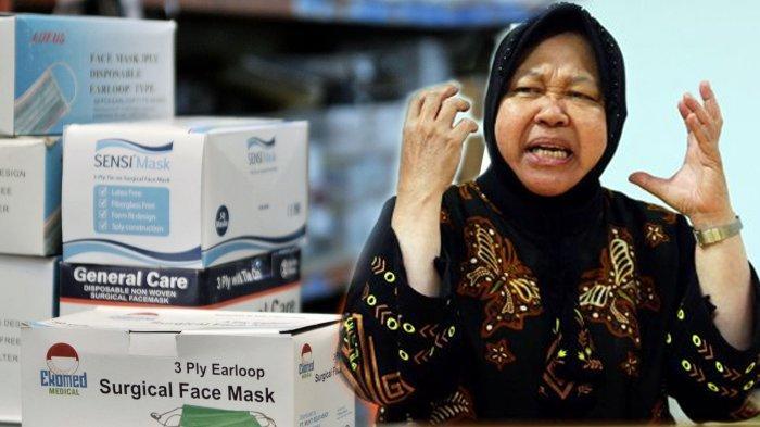 Cerita Risma 'Timbun' Masker Sejak Januari: Ada di Kelurahan, Akan Dibagi Gratis untuk Cegah Corona