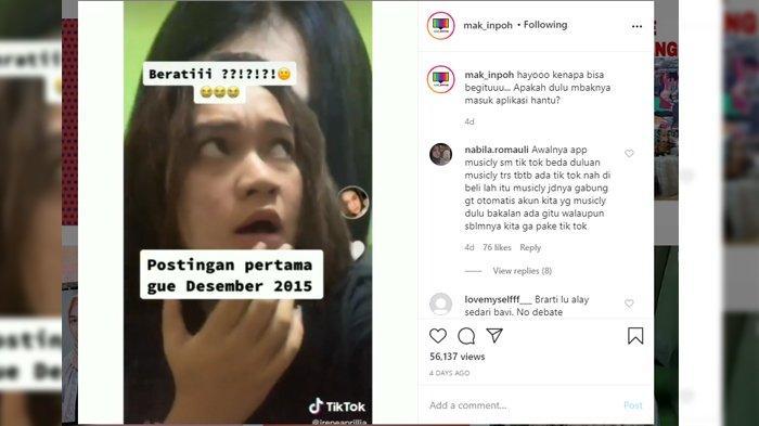 Viral Wanita Sudah Punya Video Tiktok Tahun 2015 Padahal Tiktok Baru Berdiri Tahun 2016 Kok Bisa Tribunnews Com Mobile