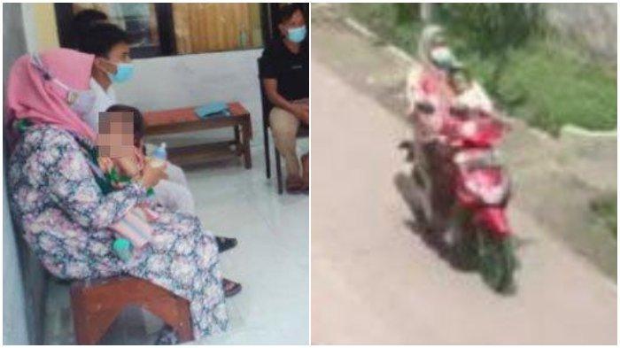 Cerita Janda di Mojokerto Curi Motor Sambil Gendong Bayi, Tak Punya Uang Beli Susu, Anak Sakit Tipes
