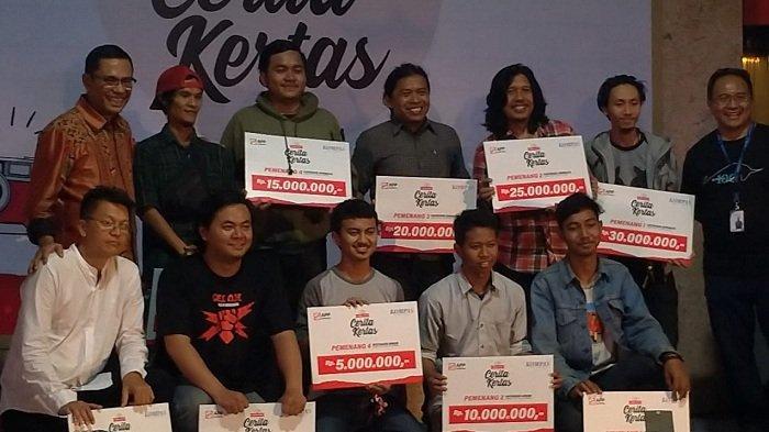 Harian Kompas dan APP Sinar Mas Gelar Malam Penganugerahan Pemenang Lomba Foto Cerita Kertas