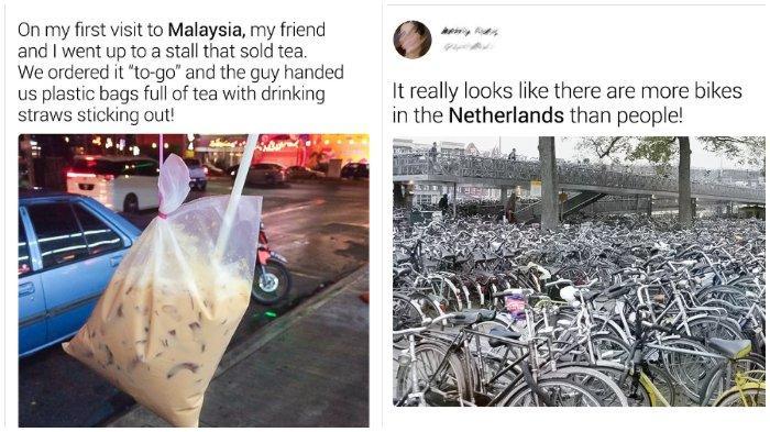 8 Kebiasaan Unik di Berbagai Negara yang Buat Turis Heran, Termasuk Es Dibungkus Plastik di Malaysia