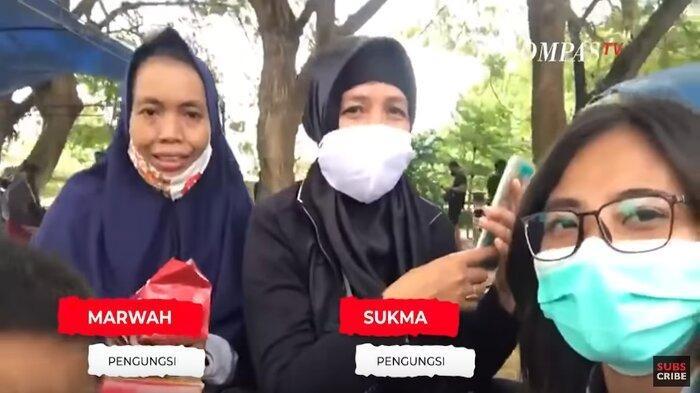 Cerita Pengungsi Korban Gempa Sulbar setelah Bertemu Jokowi, Berharap Segera Dibantu Perbaiki Rumah