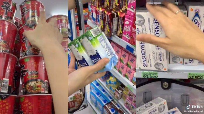 Cerita seorang perempuan yang berbelanja sepuasnya di supermarket 1