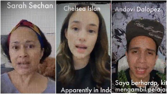 Chelsea Islan, Andovi, dan Sarah Sechan Serukan Jokowi Tutup Pasar Hewan Liar