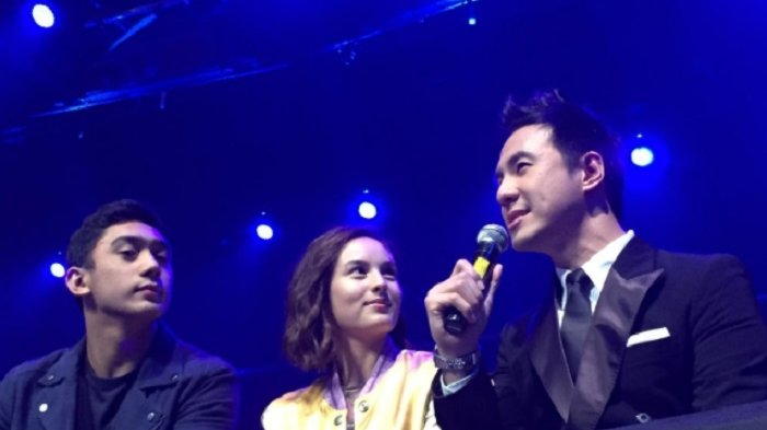 Chelsea Islan Nonton Indonesian Idol Bareng Pacar