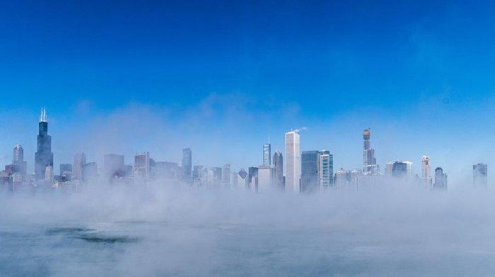 Kota Chicago Membeku Hingga Minus 54 Derajat Celcius Akibat Polar Vortex