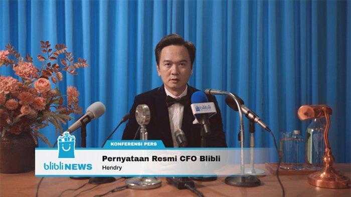 Chief Financial Officer (CFO) Blibli, Hendry