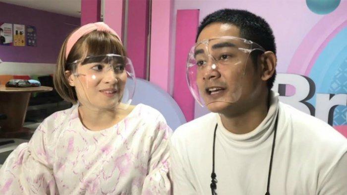 Chika Jessica saat ditemui bersama Dwi Andhika, di kawasan Tendean, Mampang Prapatan, Jakarta Selatan, belum lama ini.