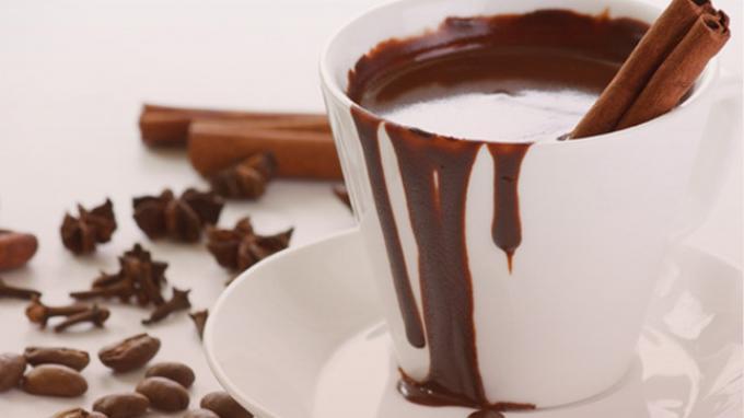 ilustrasi minuman kakao