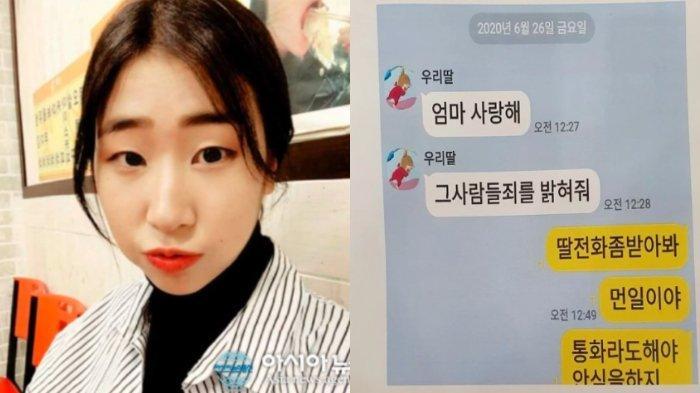 Atlet Korea, Choi Sook Hyun, Bunuh Diri, Kirim Pesan pada Ibu Sebelum Meninggal: Aku Mencintaimu