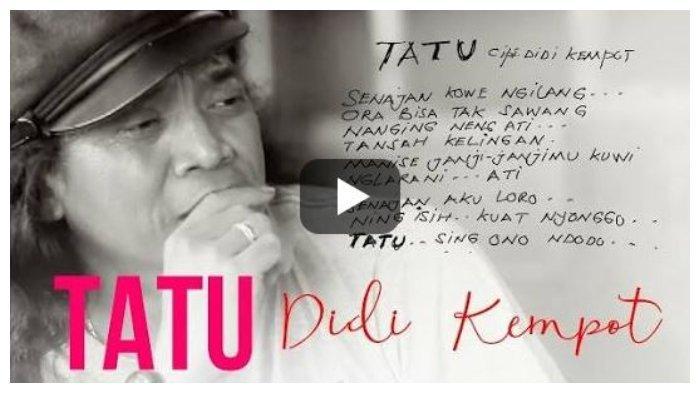 Chord Gitar Tatu - Didi Kempot dari C, Opo Aku Salah Yen Aku Crito Opo Anane Wong Sing Ning Sanding