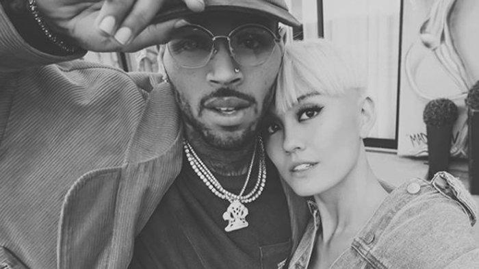 Sajikan Adegan Romantis, Agnez Mo Gandeng Chris Brown dalam Video Musik Overdose