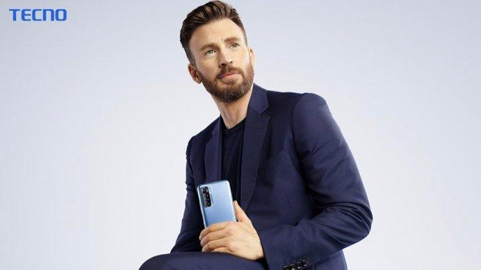 Bintang Captain America Jadi Brand Ambassador Ponsel Asal China