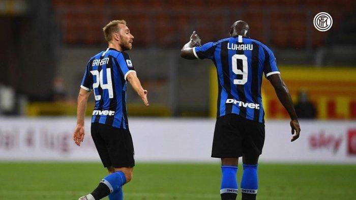 LINK Live Streaming RCTI, Inter Milan vs Lazio, Liga Italia, Eriksen Suplai Duet Lukaku & Lautaro