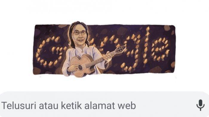 Google Doodle tampilkan sosok Chrisye