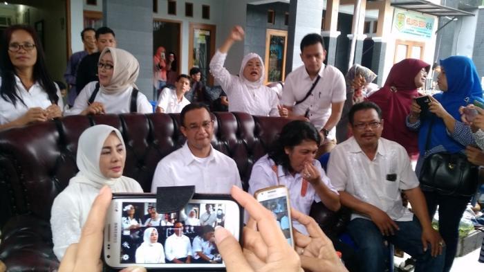 Cici Paramida Datang, Anies Baswedan: Ini Kejutan, Dia Menyukseskan Acara Saya