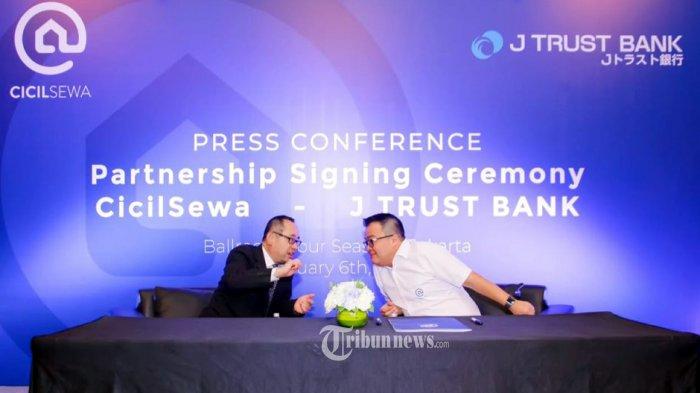 CicilSewa Bermitra Dengan J Trust Bank.