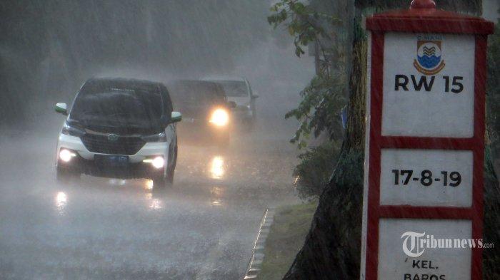 Peringatan Dini BMKG Sabtu, 6 Maret 2021, Cuaca Ekstrem Hujan Lebat Terjadi di 24 Wilayah
