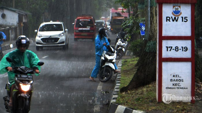 Info BMKG: Peringatan Dini Selasa, 31 Agustus 2021, Potensi Cuaca Ekstrem Hujan Lebat di 23 Wilayah