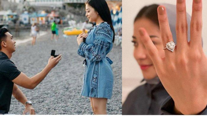 Pamer Cincin Tunangan, Nikita Willy Dilamar Indra Priawan Meski Sempat Dikabarkan Putus