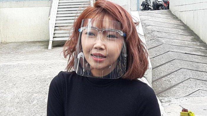 Cindy Clarista yang ditemui di gedung Trans TV, Jalan Kapten Tendean, Mampang Prapatan, Jakarta Selatan, Senin (30/11/2020).