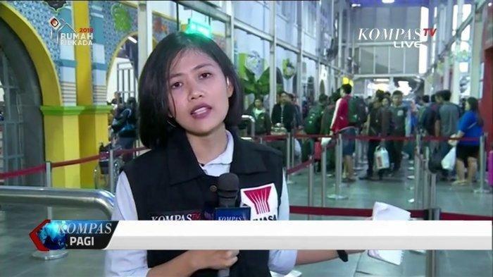 Fakta Cindy Permadi Reporter Kompas TV: Viral Saat Aksi 22 Mei hingga Dibuatkan Lagu oleh Warganet