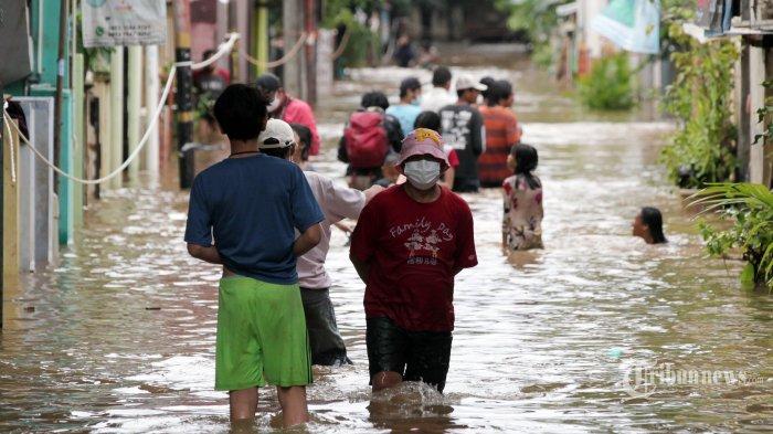 Ini 26 Titik Banjir di Jakarta dan Sekitarnya Usai Diguyur Hujan Deras Sejak Jumat Malam