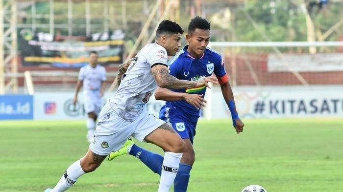 Ciro Alves pada laga kontra PSIS Semarang