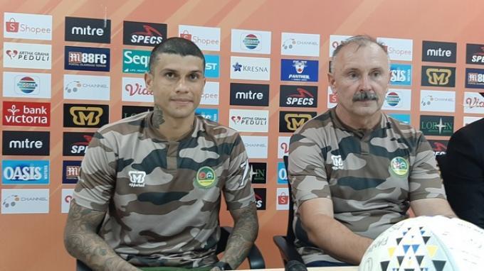 Ciro Henrique Alves dan Alex Dos Santos Goncalves Masih Bagian dari Persikabo 1973