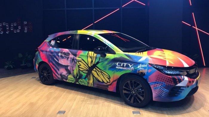City Hatchback RS Racikan Pemenang Kompetisi Modifikasi Virtual Akhirnya Tampil di Senayan