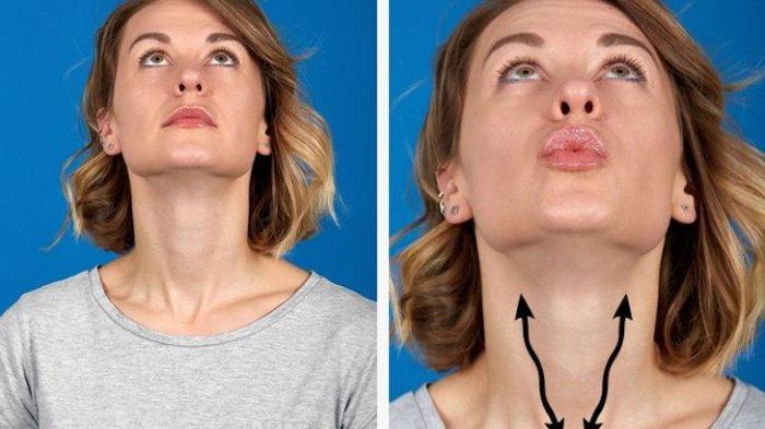 Lakukan 7 Gerakan Senam Wajah Ini dengan Rutin, Hilangkan Double Chin yang Membuat Minder