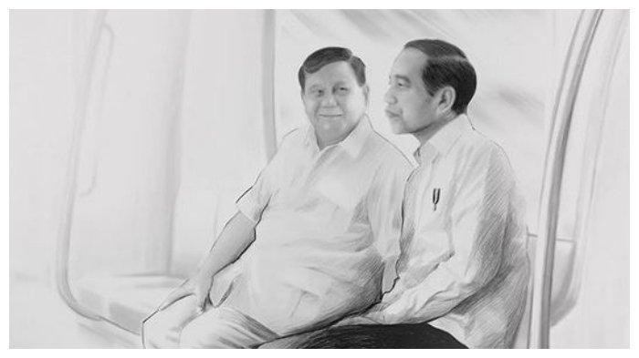Foto unggahan Prabowo di penghujung tahun 2019.