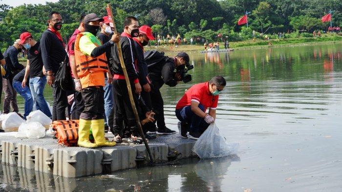 Sekjen PDIP: Tebar Benih Ikan, Tanam Pohon dan Bersihkan Waduk Upaya Merawat Kehidupan