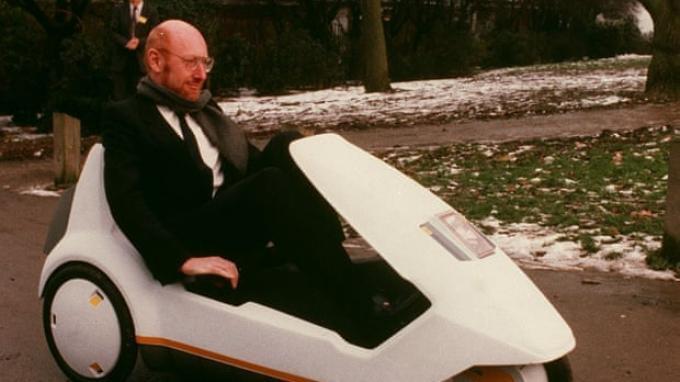 Clive Sinclair.