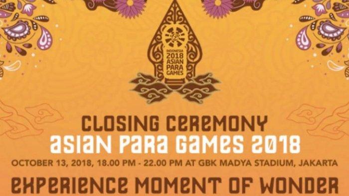 Judika hingga AOA, Ini Deretan Penyanyi yang Bakal Meriahkan Closing Ceremony Asian Para Games 2018