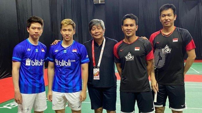 Daftar Pebulutangkis Indonesia di German Open 2021, Marcus/Kevin Kembali, Ahsan/Hendra Tampil